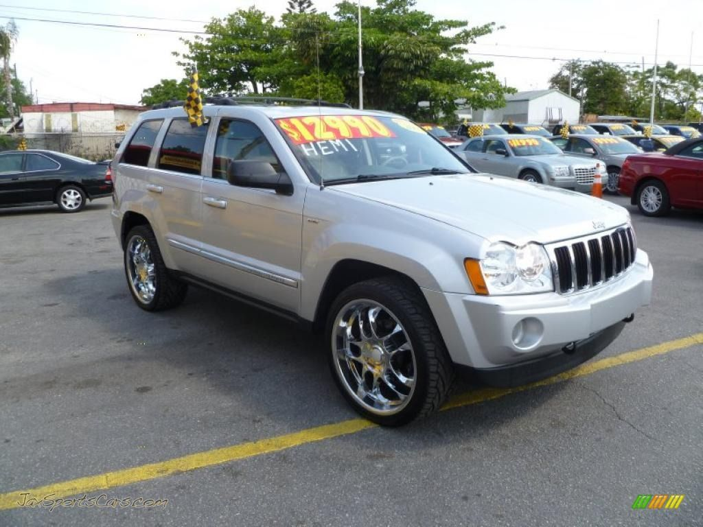 2005 jeep grand cherokee 2005 jeep grand cherokee limited 4x4 in bright silver metallic