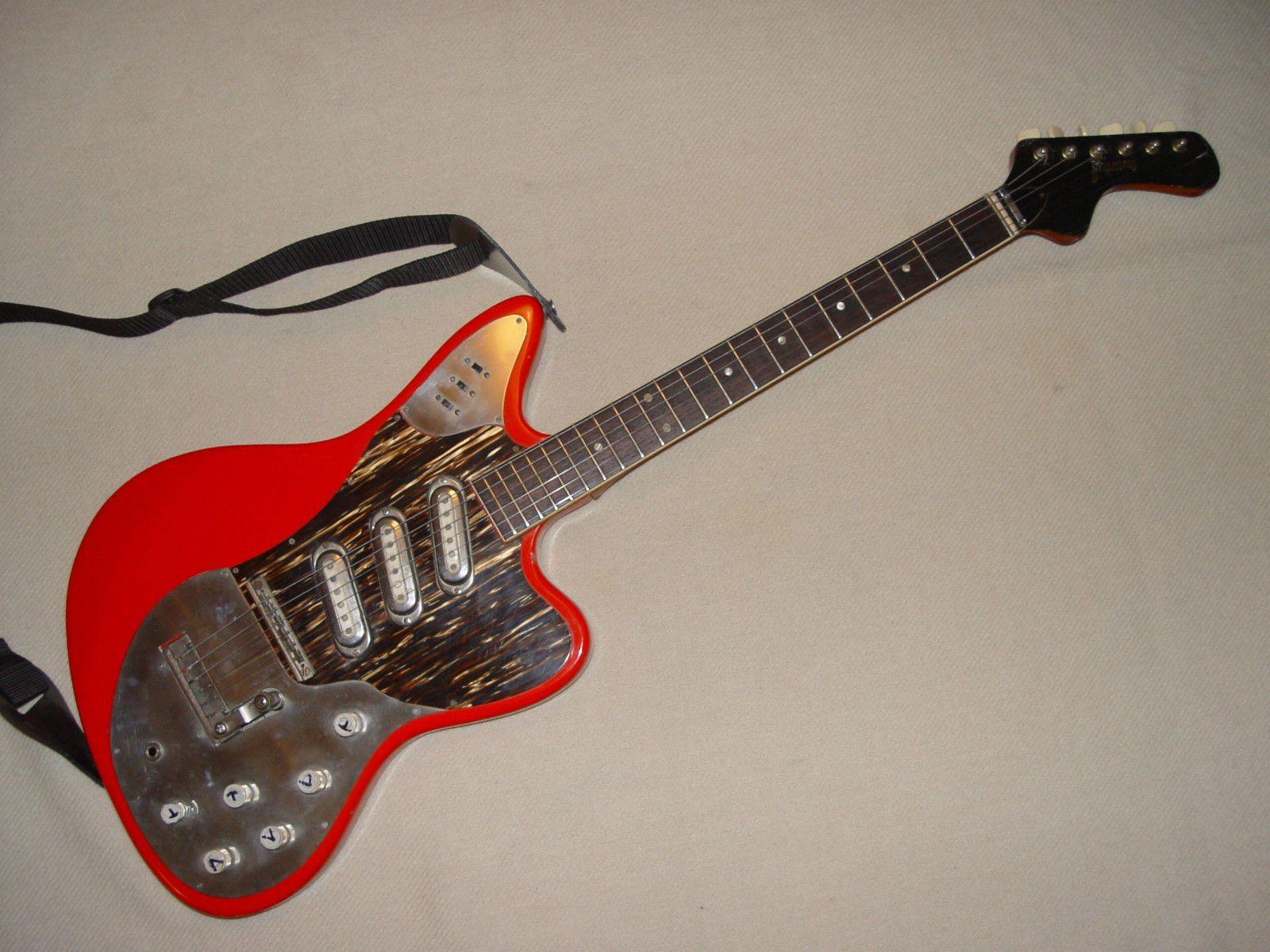 Framus Strato de Luxe E Gitarre guitar 1964 in Musikinstrumente Vintage Musikinstrumente Vintage