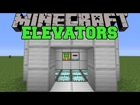 Minecraft: REAL ELEVATORS (SET UP EPIC ELEVATORS!) Mod