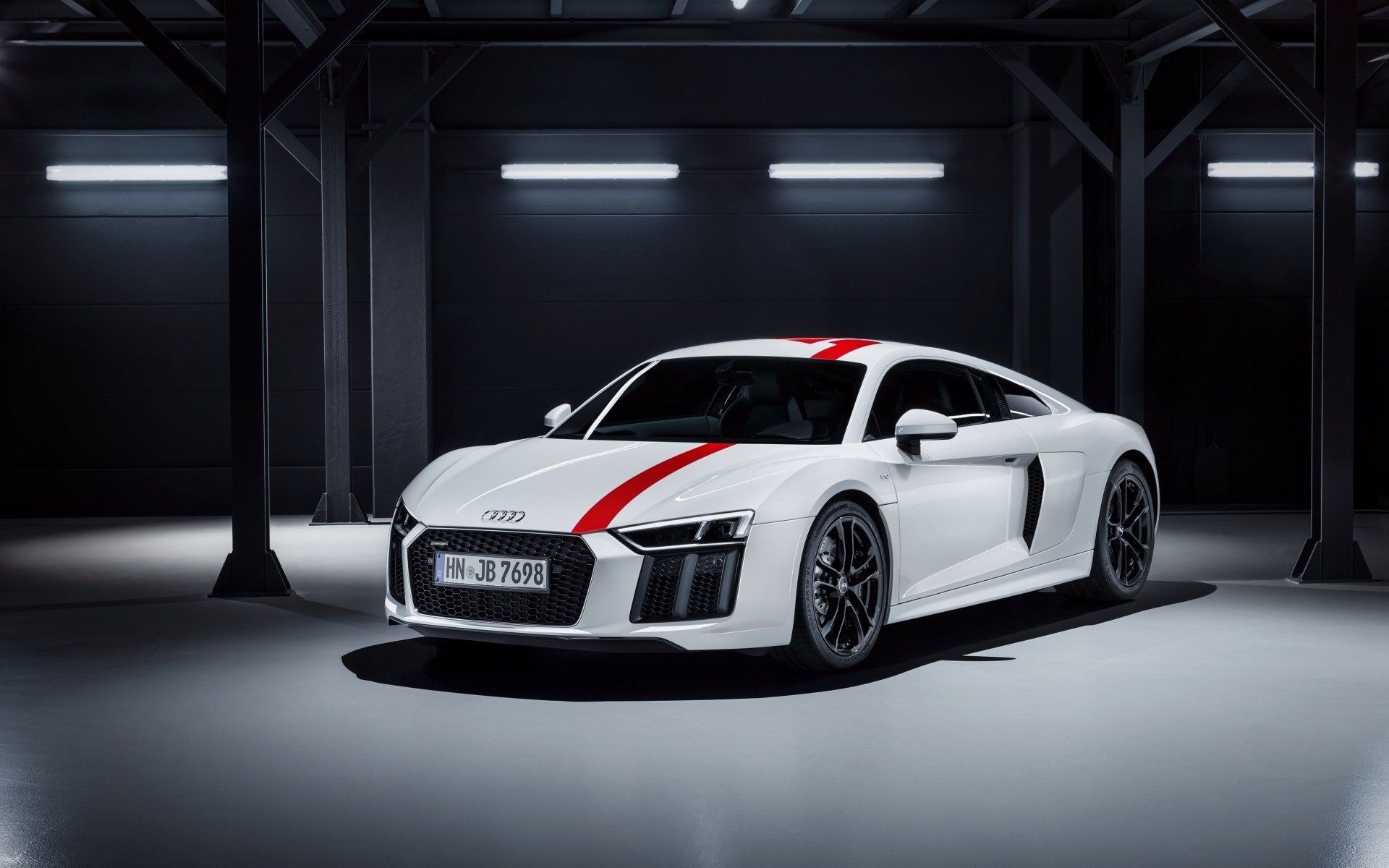 Audi R8 Great And Rich White Luxurious Car Wallpaper Audi R8 Great