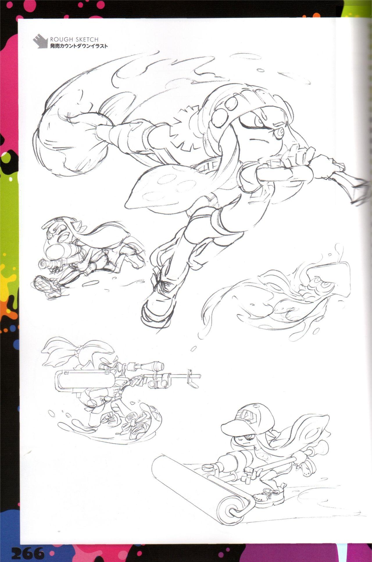 coloriage de splatoon 2 splatoon concept art - Dessin Colorier 2