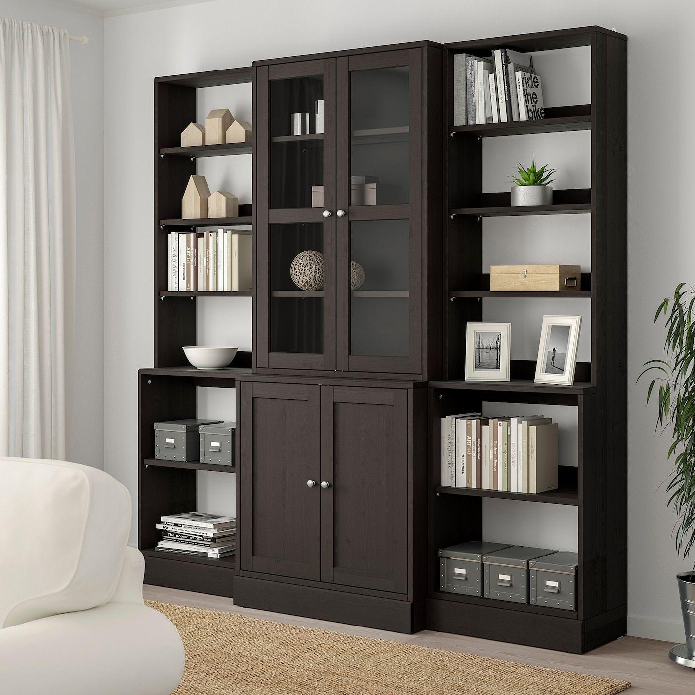 IKEA HAVSTA Showcase – dark brown