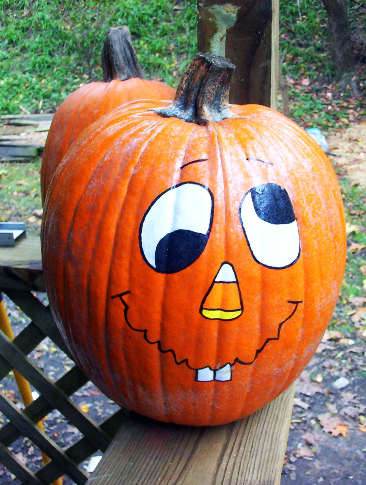 17++ Faces painted on pumpkins funny inspirations