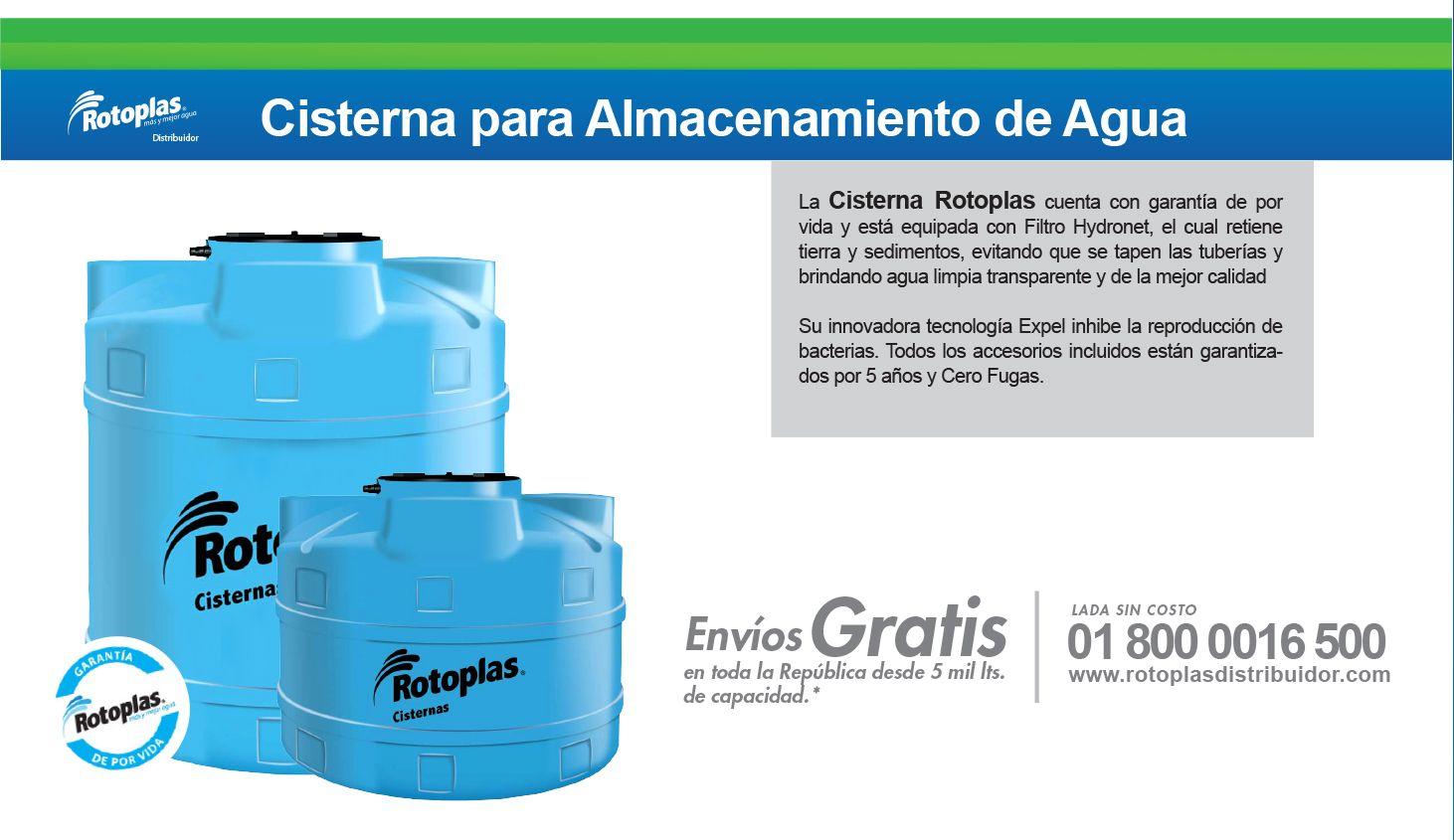 Cisternas rotoplas tanques rotoplas cisternas agua for Cisternas de agua a domicilio