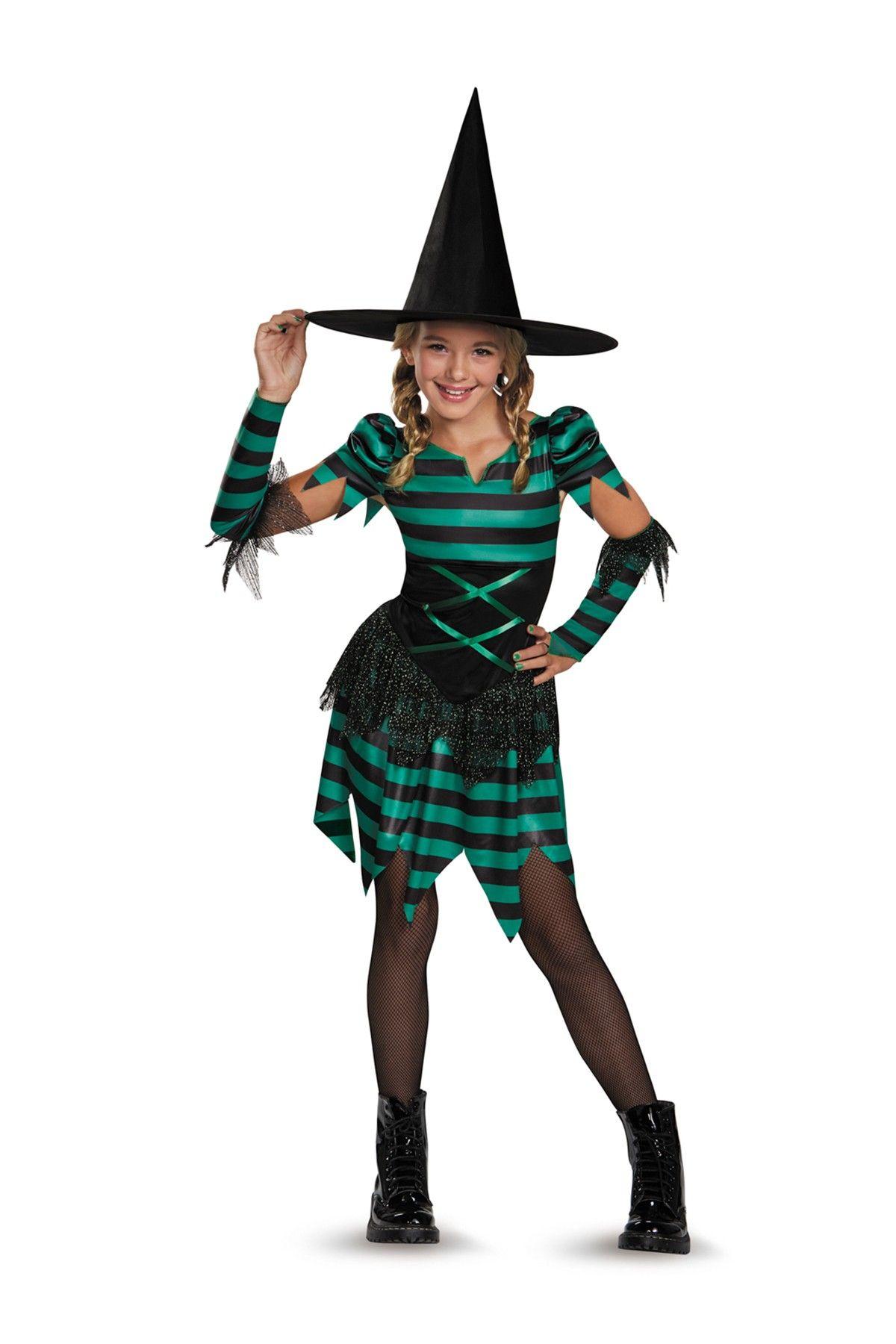 Sassy Sorceress Costume (Big Girls)