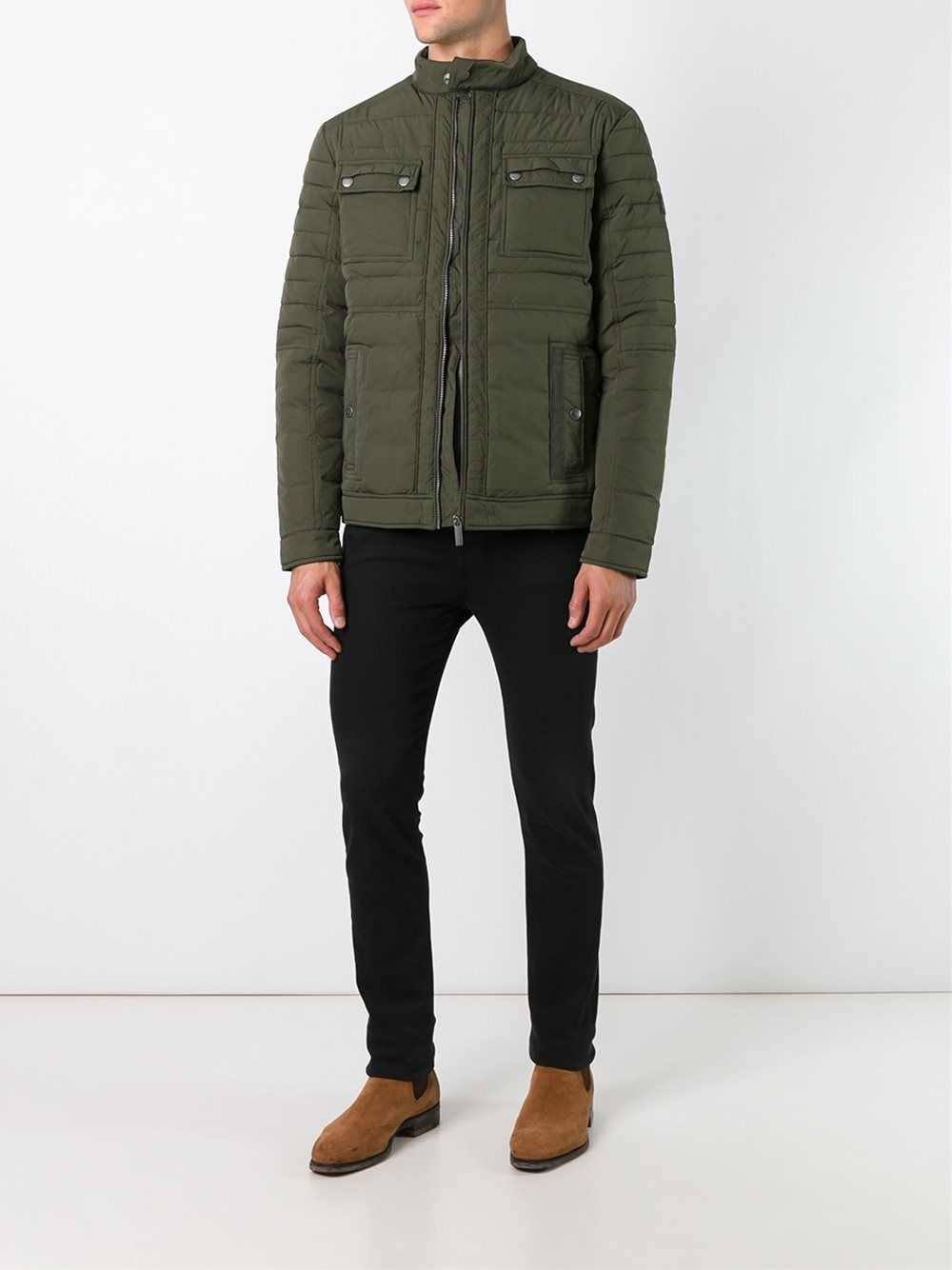 Calvin Klein Jeans Quilted Multi Pocket Jacket Jackets Mens Jackets Pocket Jacket [ 1334 x 1000 Pixel ]