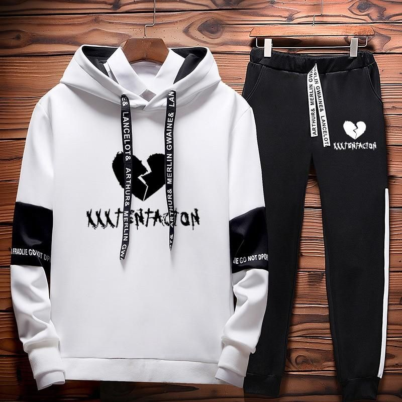 XXXTentacion Two Set Sweatshirt and Sweatpants