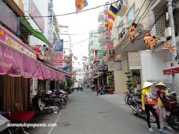 Callejón de Ho Chi Minh City, Vietnam