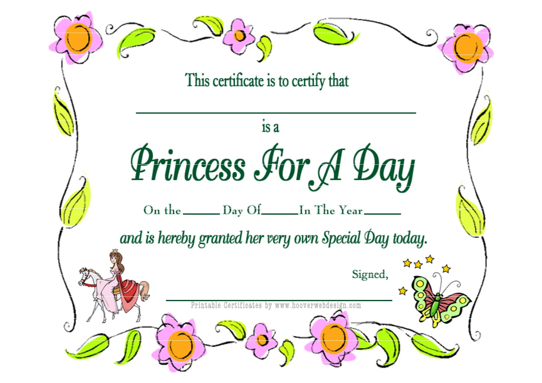first birthday princess free printables | Princess For A Day ...