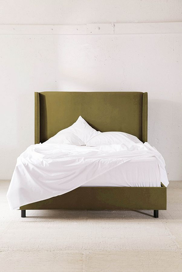Winona Wingback Bed Vintage bed