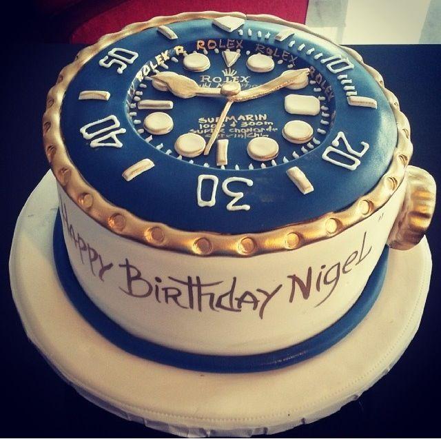 180a8fa4872 Rolex cake