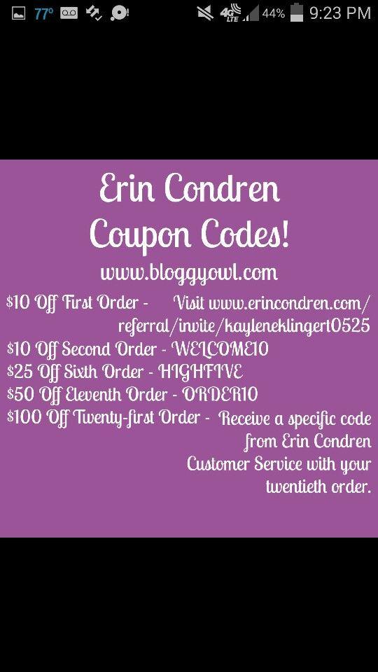 Coupons Erin Condren Coupon Code Erin Condren Coupon Referrals