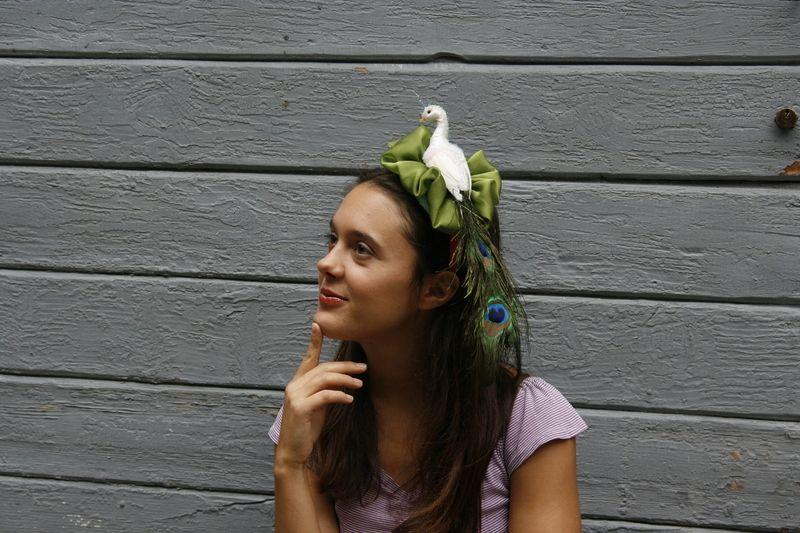 Cerchietti per capelli - pavoneggiando - un prodotto unico di giocanda su DaWanda