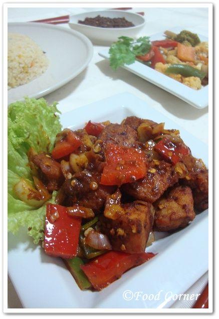 Food corner sri lankan devilled chicken recipe in chef for Authentic sri lankan cuisine