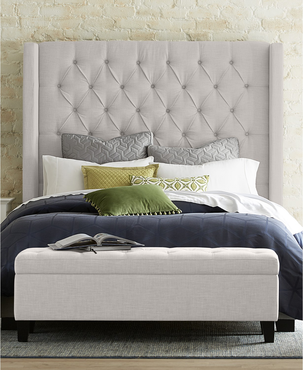 Furniture Closeout! Monroe Upholstered Storage Bench, Created for