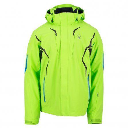 f46fb7d3a0 Spyder Garmisch Insulated Ski Jacket (Men s) - Mantis Green Black Collegiate