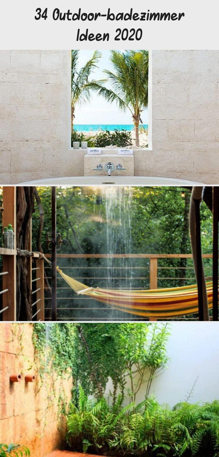 34 Outdoor Badezimmer Ideen 2020 Badezimmer Badideen Freien Gartenideen2020 Aquarium