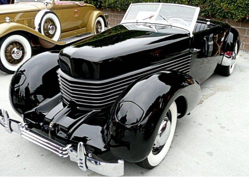 Black 1936 Cord Classic Cars Classic Cars Trucks Retro Cars
