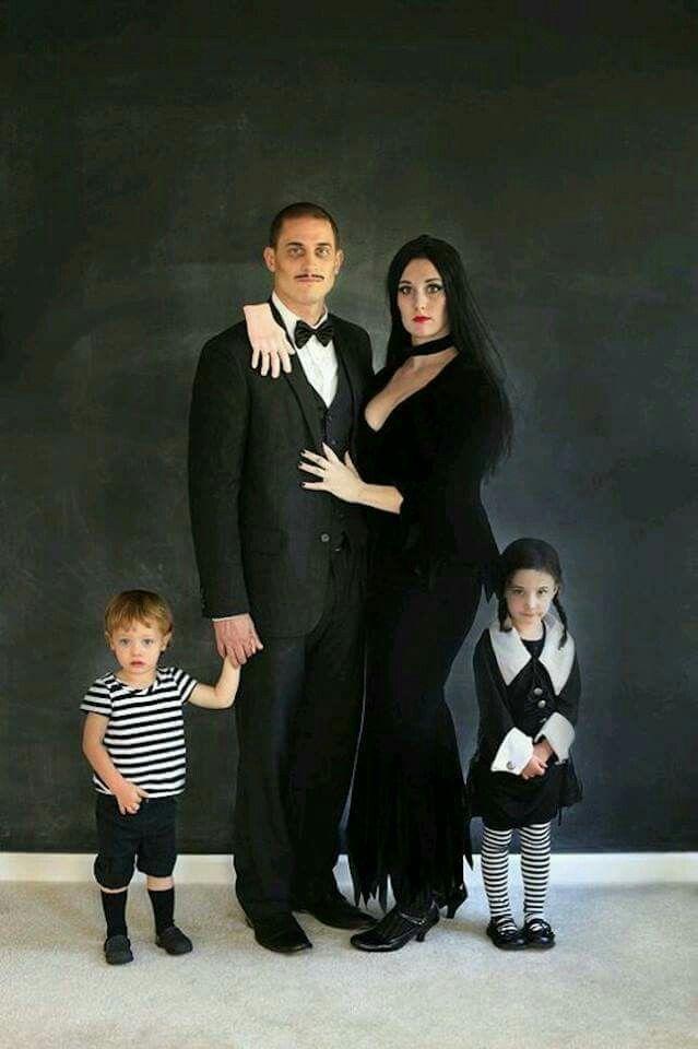 Disfraz familia Adams!  Family Adams' costume