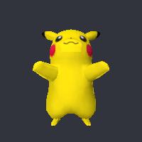 Pikachu Free 3d Model Pikachu Blend Vertices 973 Polygons 1508 See It In 3d Https Www Yobi3d Com V Kwdg9k69mg Pikachu Blend Pikachu 3d Model Model