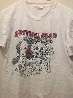 Rare Vintage Original 1980s Grateful Dead T Shirt With Rosa Bud