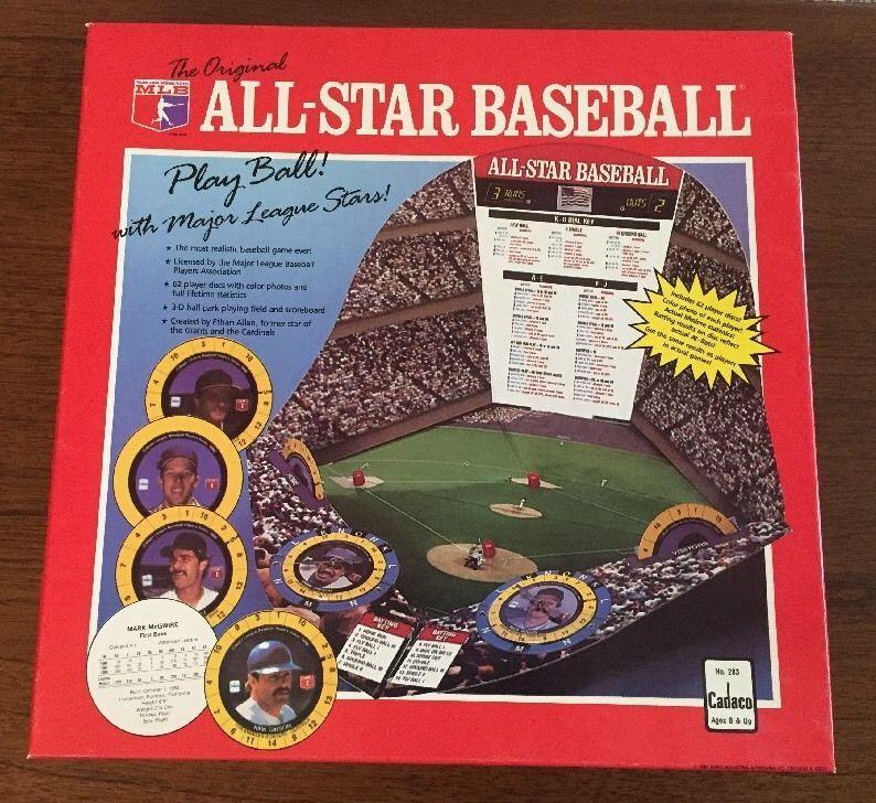 Cadaco The Original All Star Baseball Game eBay Play