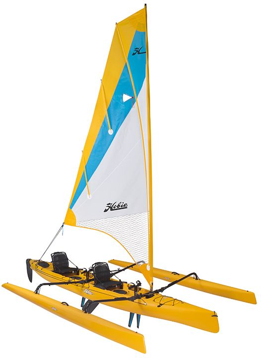 Hobie Mirage, Hobie Tandem Island, Sailing Kayak