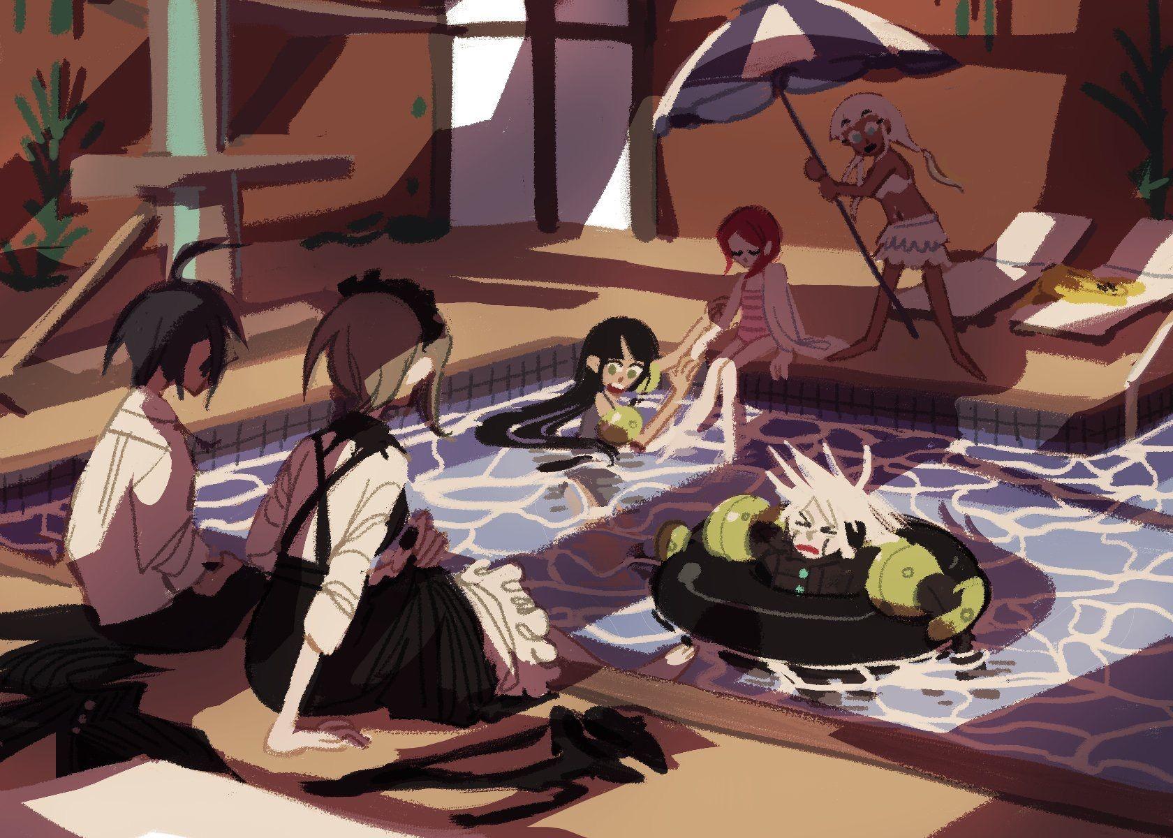 Pin By Roni On Anime Games Danganronpa Danganronpa Memes New