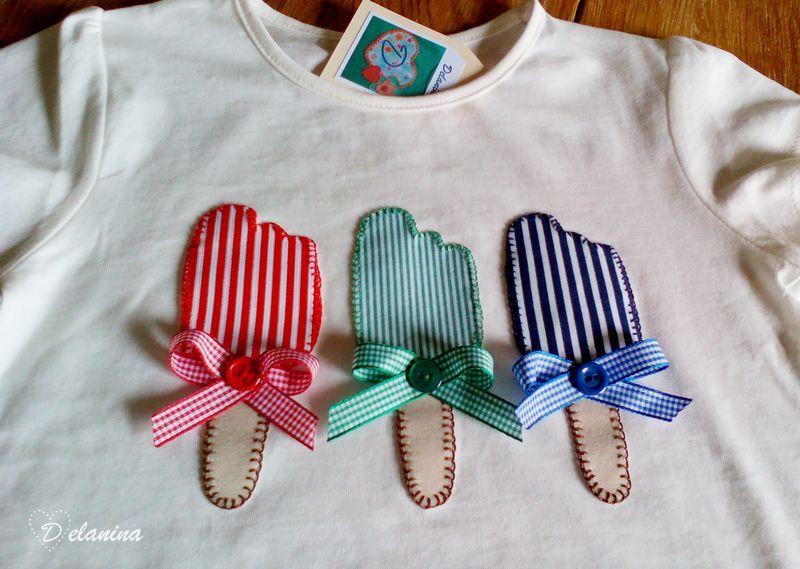 Hablan de | Camisetas Patchwork Delanina | Camisetas