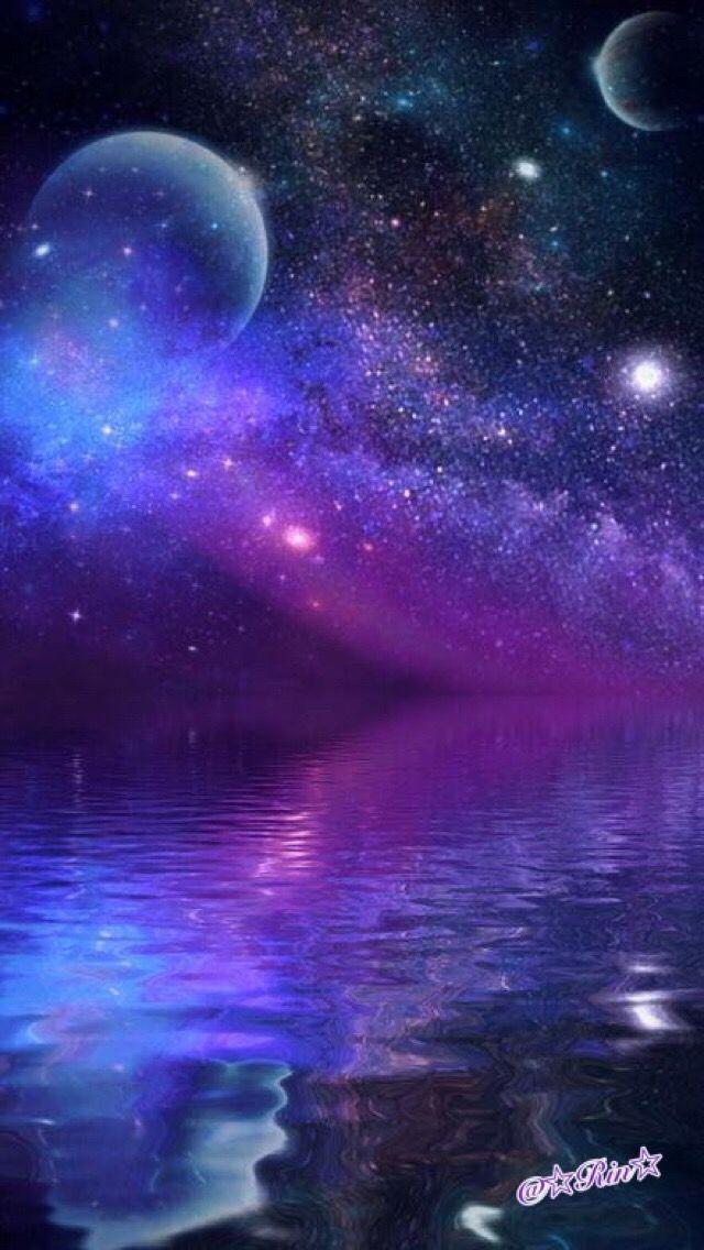 Pinterest Nor Syafiqah Fantasy Landscape Galaxy Background Space Art