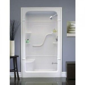 Shower Kits for Small Bathrooms | Shower Stall With Seat, Bench Or ...