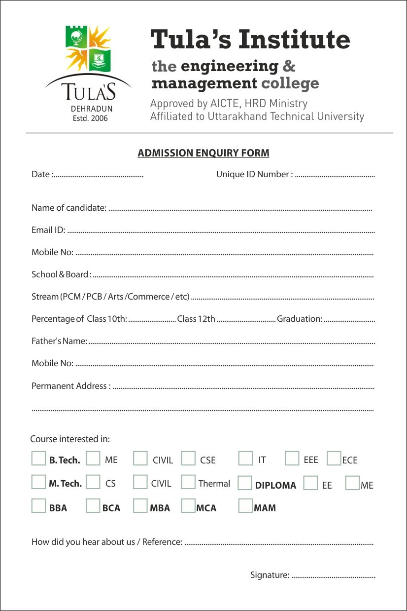 Related Image  Enquiry Form    Higher Education