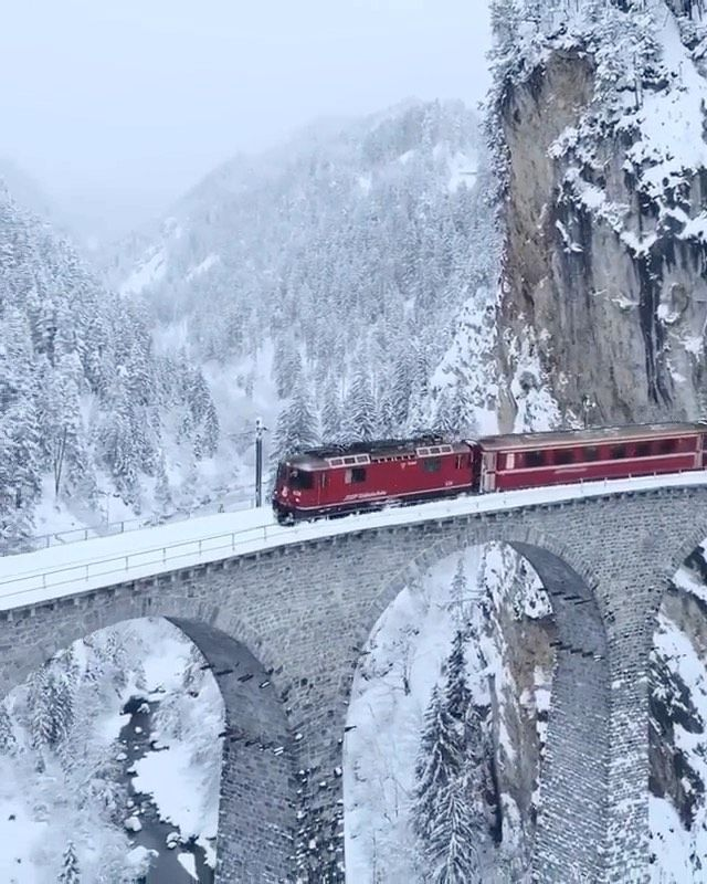 "Olga On Instagram: ""Glacier Express In Switzerland"