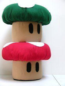 Super Mario Brothers Mushroom Ottoman images