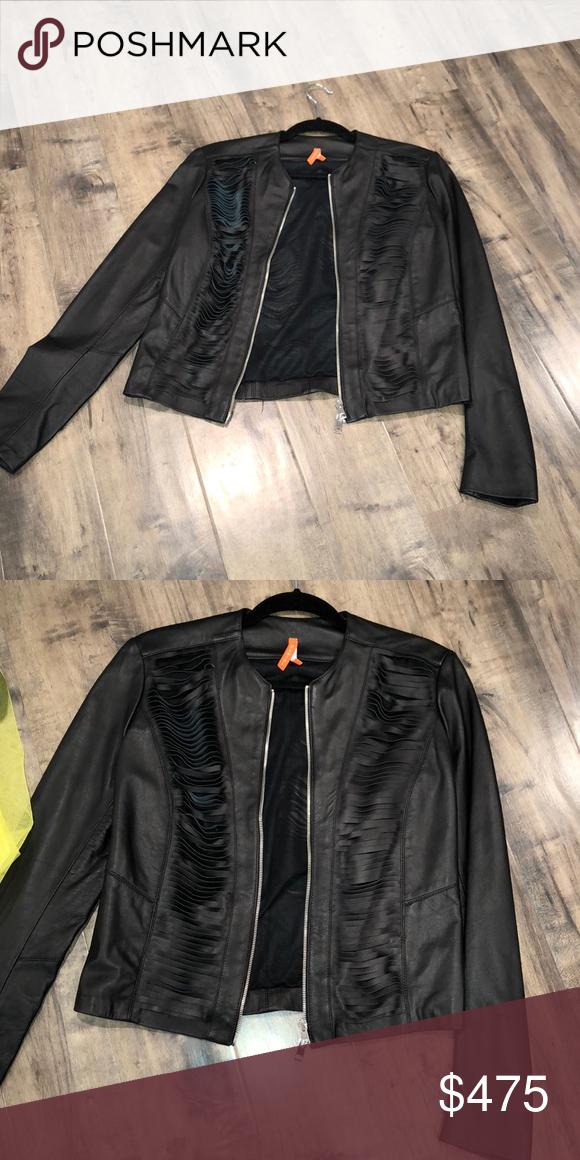 Italian Genuine Jacket Gorgeous Cutouts My Posh Picks Jackets