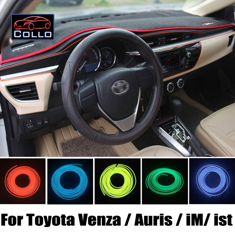 Car-Styling 9 Color EL Wire / For Toyota Venza / Auris / iM / ist ...