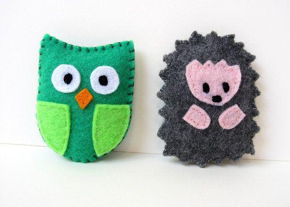 Sewing Pattern Hedgehog Owl Pillows PDF Kawaii by MyFunnyBuddy ...