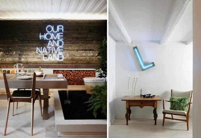Charmant 5 Favorites: Neon Lettering As Decor : Remodelista
