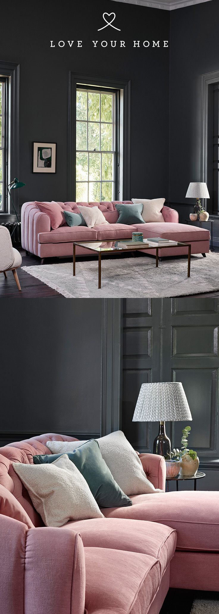 Earl Grey Corner Sofa Bed With Chaise In 2020