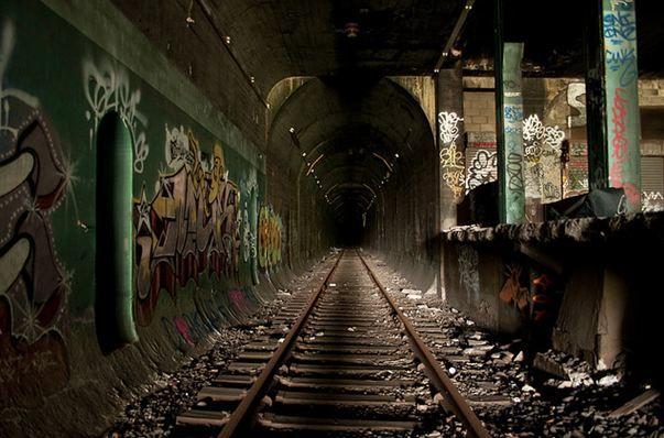 Abandoned Subway Creepy Amp Beautiful At The Same Time