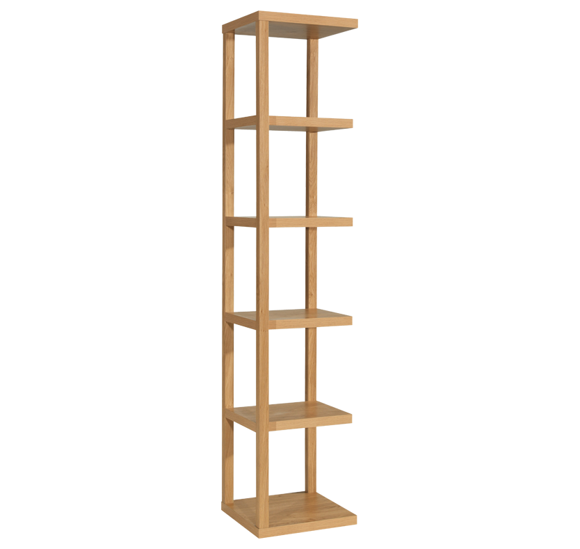 Furniture Corner Shelving Unit Tall Narrow Bookcase Narrow Shelves