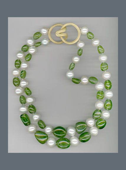 watch in pearl peridot face pearls youtube punches the