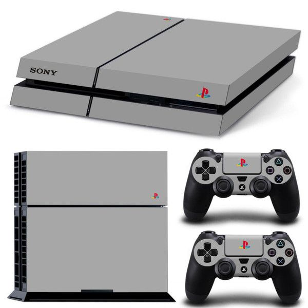 Classic PS4 Skin Decal Cover 2 Controller Decals Sony Free Shipping