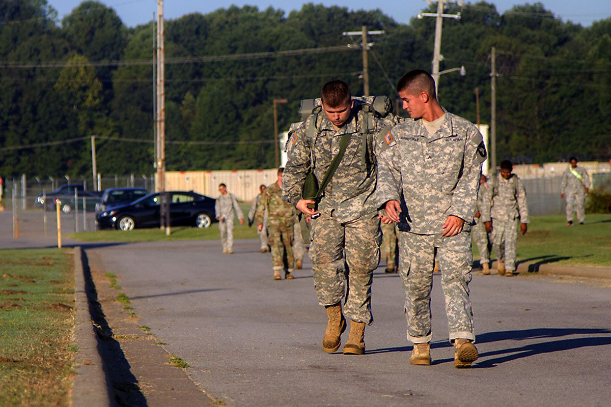 101st airborne soldiers march toward resiliency soldier
