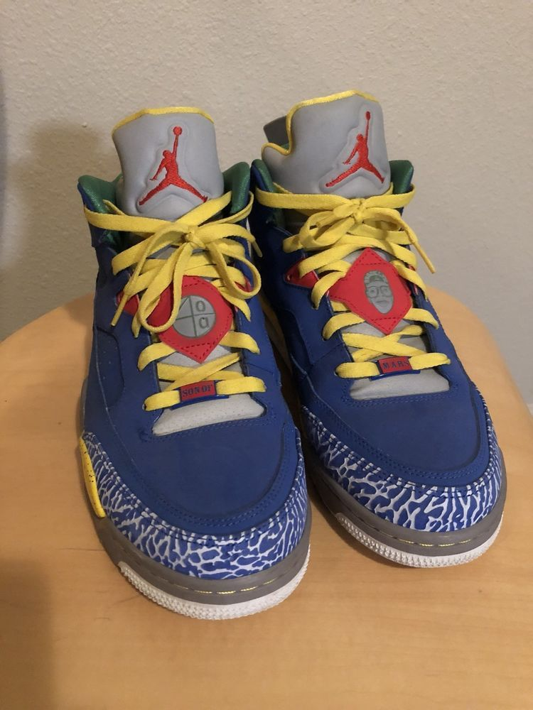 best service 60783 a53b0 Nike Air Jordan Son of Mars Do the Right thing Royal Blue Low Sneakers 10.5   fashion  clothing  shoes  accessories  mensshoes  athleticshoes (ebay link)