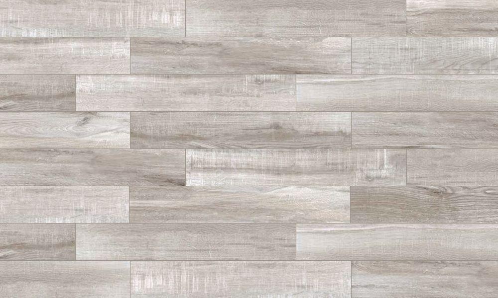 Northwind Grey Porcelain Wood Look Tile Like