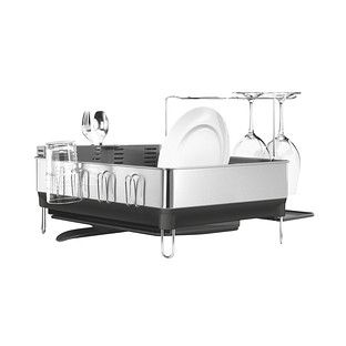Best Simplehuman Stainless Steel Frame Dish Rack Simplehuman 400 x 300