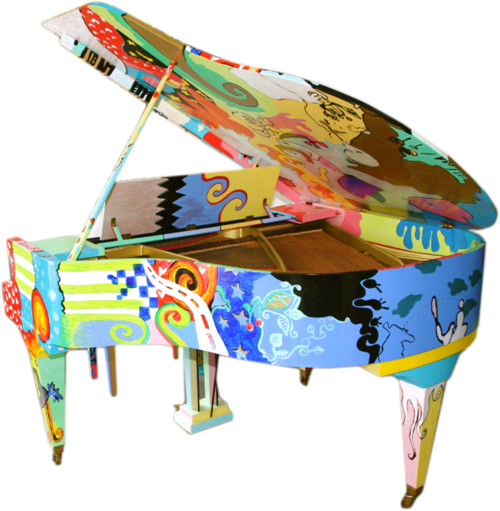 Piano Colorful