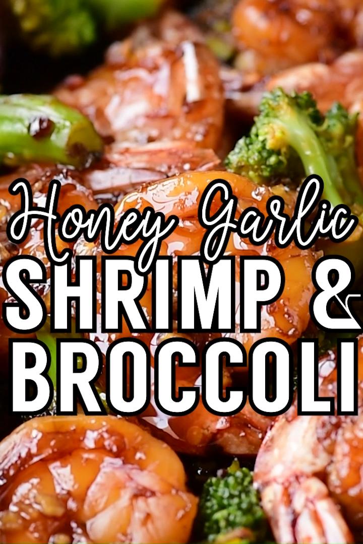 Honey Garlic Shrimp & Broccoli