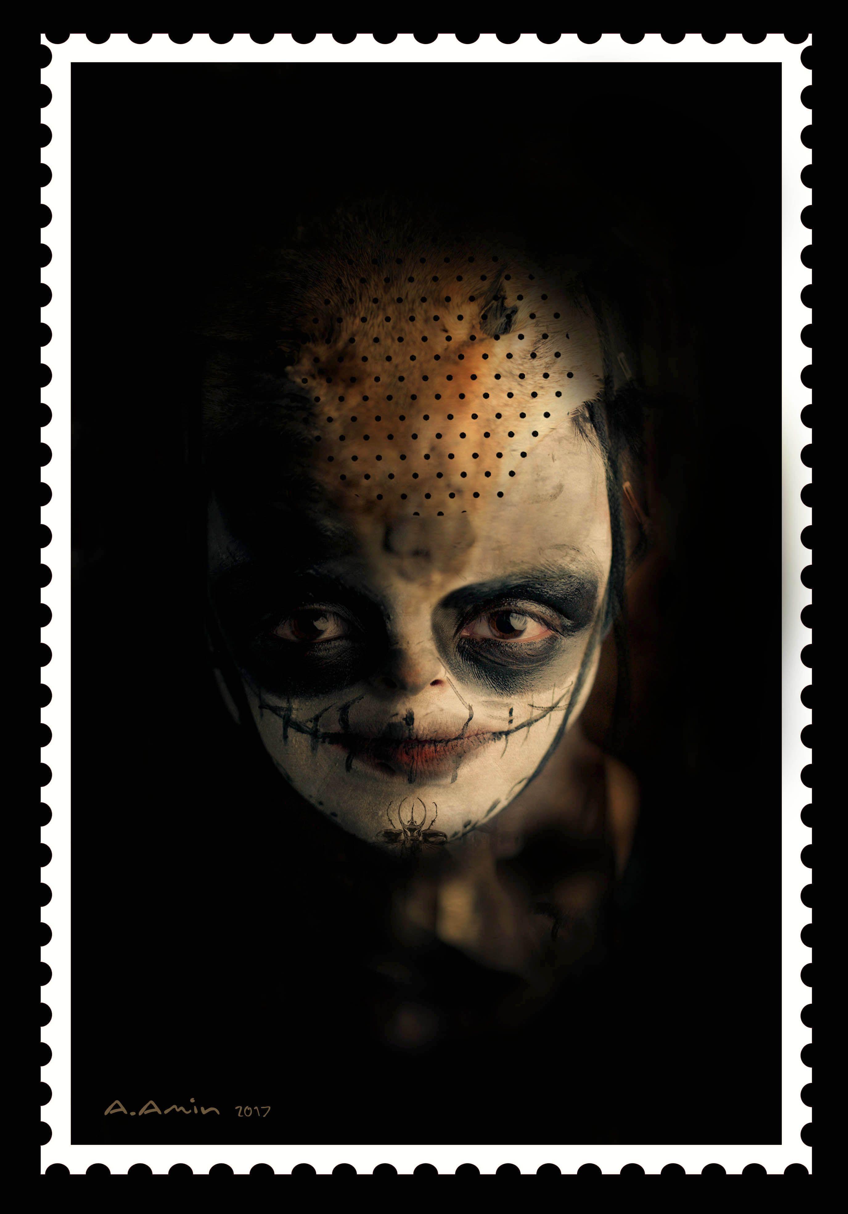 Amanj Amin Face makeup, Halloween face, Halloween face